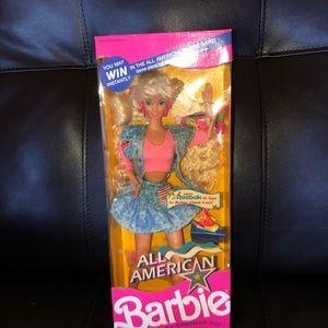 All American Barbie Reebok edition 1990
